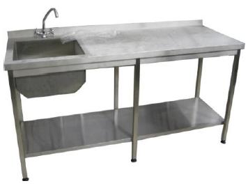 Стол ванная с полкой